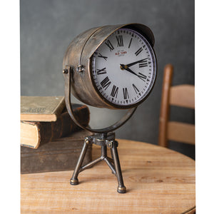 Spotlight Table Top Clock