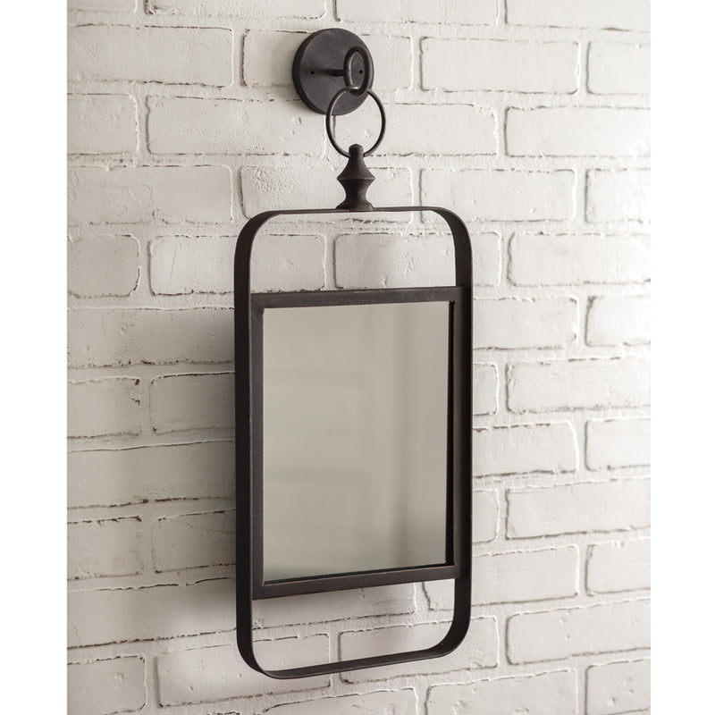 Industrial Wall Mounted Mirror,wall mirror,Adley & Company Inc.