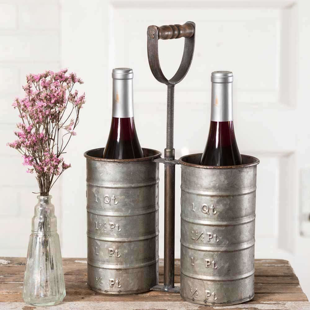 Metal Bottle Caddy,caddy,Adley & Company Inc.