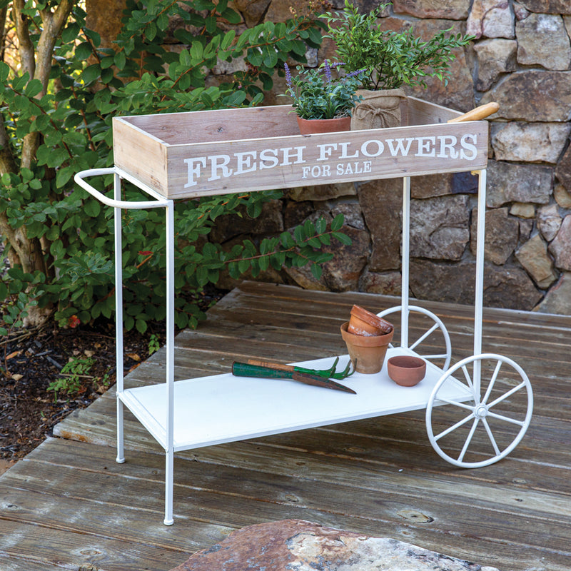 Rolling Kitchen or Garden Cart,cart,Adley & Company Inc.