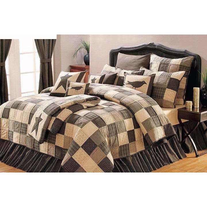 Country Patchwork Quilt Bedspread,bedspread,Adley & Company Inc.