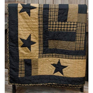 Delaware Star Cotton Throw Blanket,throw blanket,Adley & Company Inc.