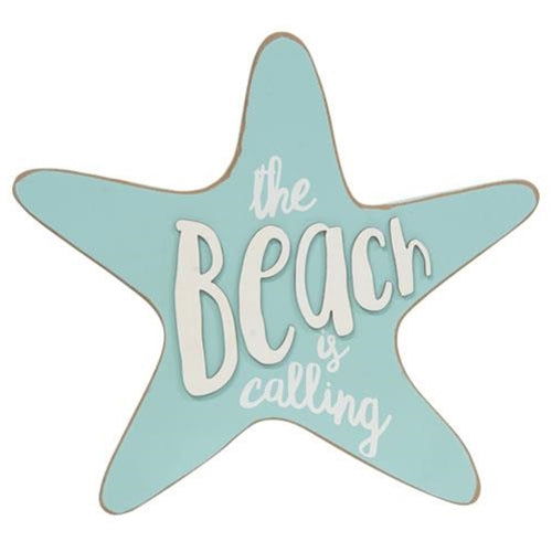 The Beach Is Calling Star Plaque