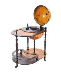 Classic World Globe Bar Cart Trolley,bar cart,Adley & Company Inc.