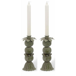 Blooming Metal Candle Stick Holders,candle holder,Adley & Company Inc.