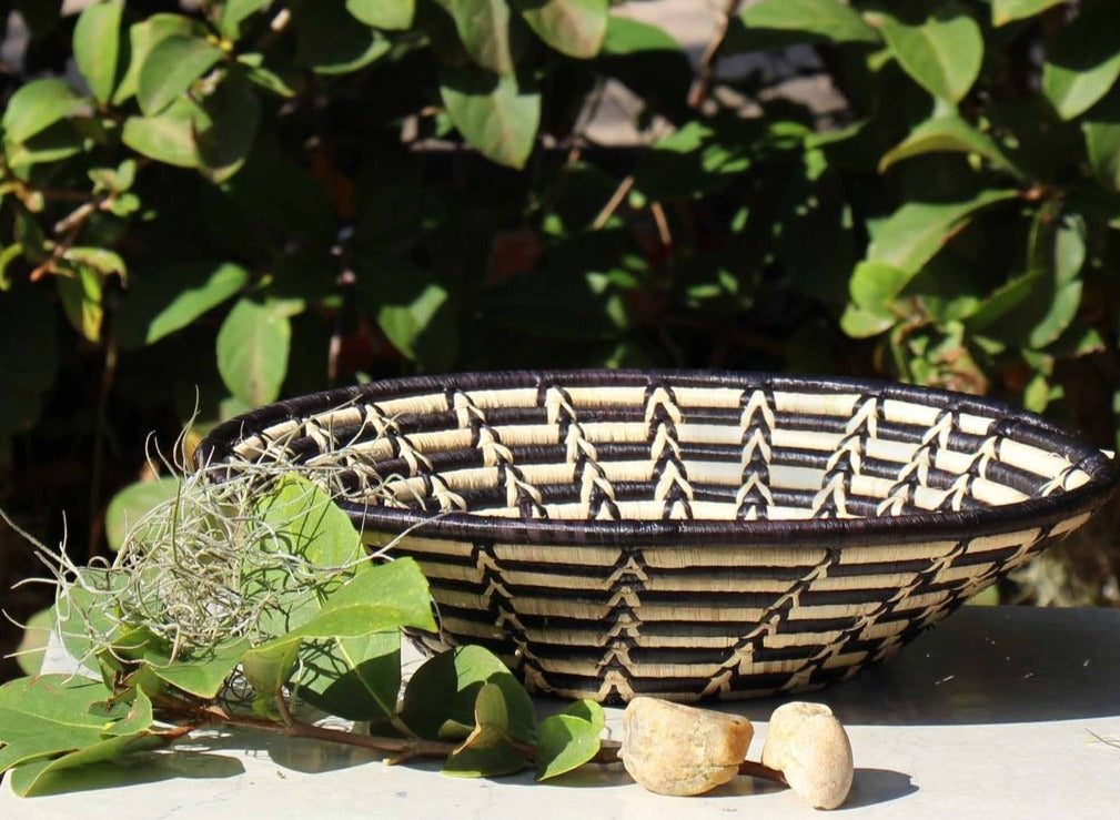 Fair Trade Woven Sisal Basket Bowl