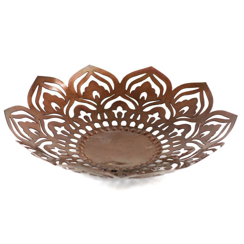 Fair Trade Metal Mandala Bowl