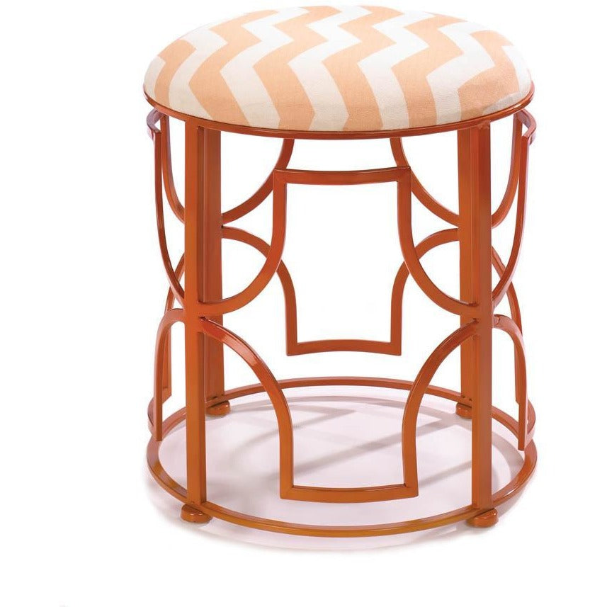 Chic Chevron Stool,seat,Adley & Company Inc.
