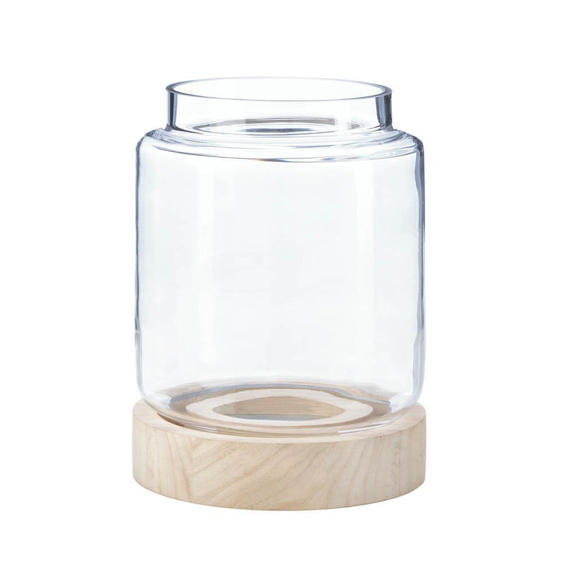 Coastal Glass Hurricane Lantern,hurricane lamp,Adley & Company Inc.