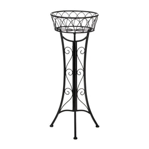 Black Iron Plant Stand,plant stand,Adley & Company Inc.