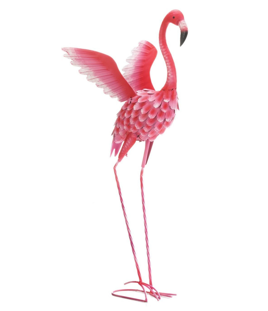 Tall Pink Flamingo Lawn Ornament,lawn ornament,Adley & Company Inc.