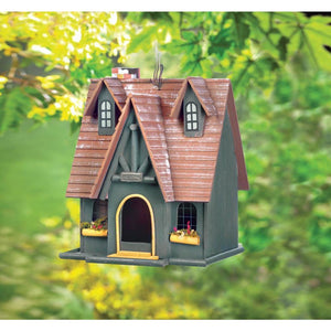 Cottage Storybook Bird House,bird house,Adley & Company Inc.