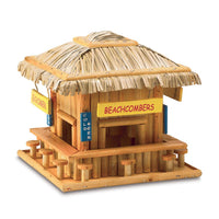 Beach Hangout Wooden Birdhouse,bird house,Adley & Company Inc.