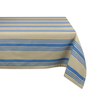 Nautical Striped Tablecloth