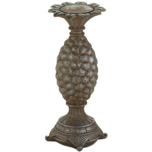 Pineapple Pillar Candle Holder, Large or Small