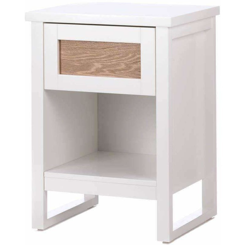 White Side or End Table,cabinet,Adley & Company Inc.