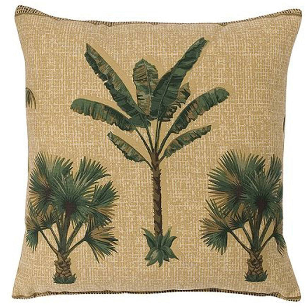 Kona Palm Tree Throw Pillow,throw pillow,Adley & Company Inc.