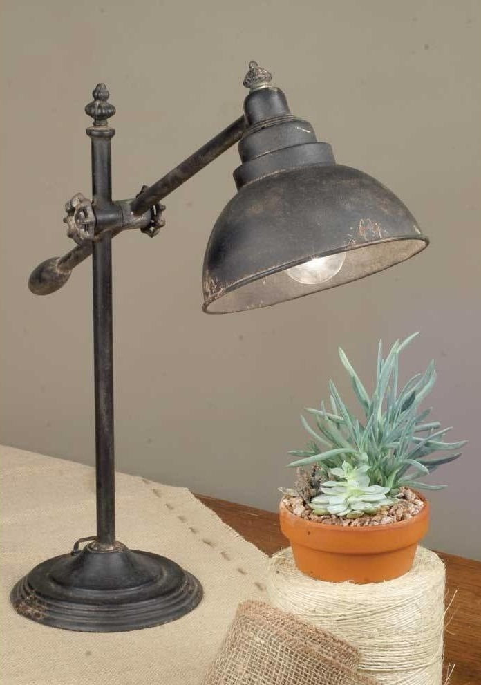 Vintage Style Swing Arm Table Lamp