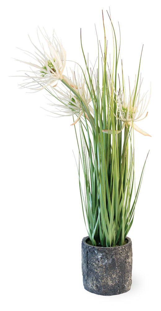 "22"" Tall Artificial Ornamental Flower Grass,artificial plant,Adley & Company Inc."