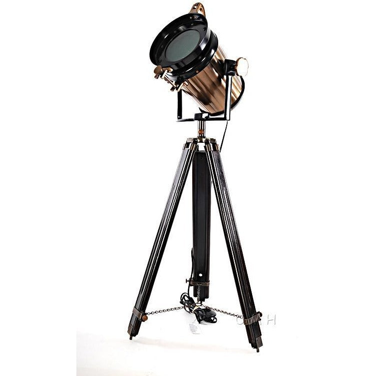 Spotlight Tripod Floor Lamp,floor lamp,Adley & Company Inc.