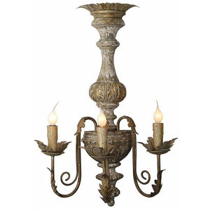Baroque Style Carved Wood Sconce Light, Set of 2,wall sconce,Adley & Company Inc.