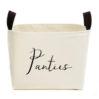 Closet Canvas Organizer Storage Basket,basket,Adley & Company Inc.