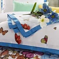 Butterfly Pattern Duvet Cover Set