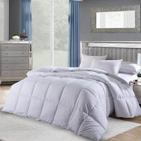 White Cotton Down Alternative Duvet