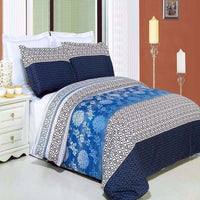Blue and White Duvet Cover Set,bedding set,Adley & Company Inc.