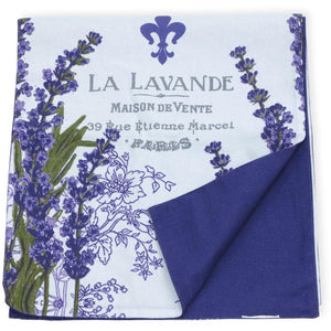 Purple Lavender Print Table Runner,table runner,Adley & Company Inc.