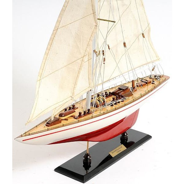 Endeavour Yacht Model Boat,model sailboat,Adley & Company Inc.