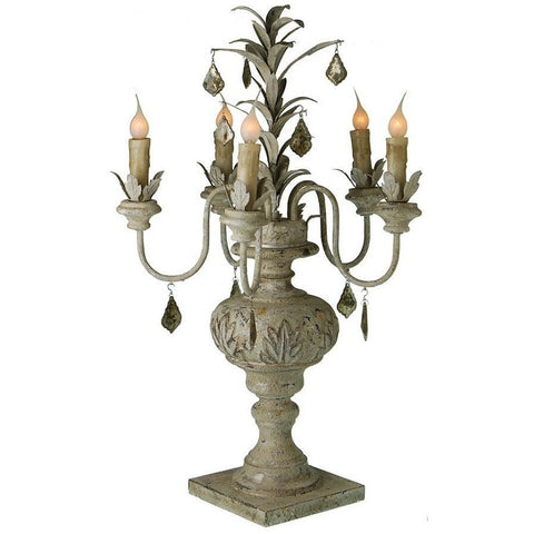 Antique Style Table Candelabra