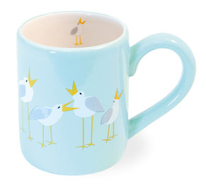 Seagulls Mugs, Set of 6