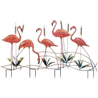 Garden Decor Flock of Flamingos,pink flamingo,Adley & Company Inc.