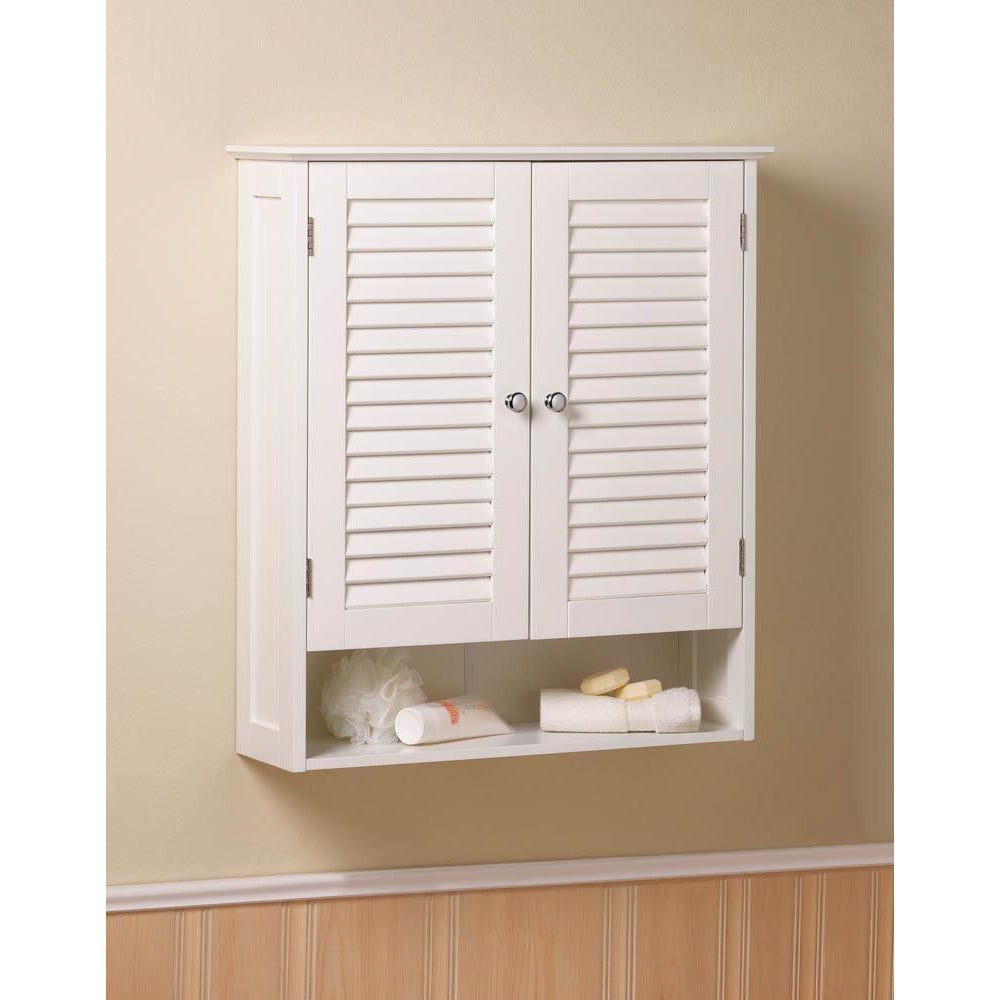 Nantucket Bathroom Wall Cabinet,shelves,Adley & Company Inc.