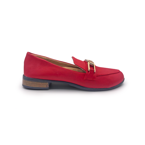 Loafer rojo