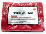 Fireball Jet Towel (Red / White) 60 x 41cm