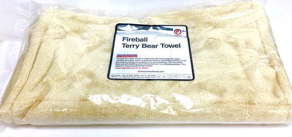Fireball Terry Bear Buffing Towel (2 Sizes)