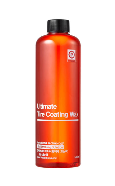 Ultimate Tyre Coating Wax RED (Satin Finish) 500ml