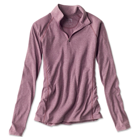 Orvis WOMEN'S Drirelease quarter Zip Long Sleeve