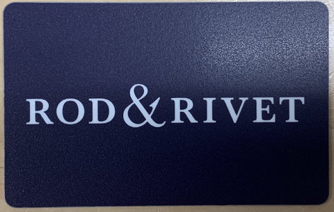 Rod and Rivet Gift Card