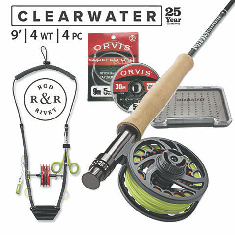 Upgraded Starter Fly Fishing Kit