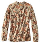 Orvis Drirelease Camo Long Sleeve Crew