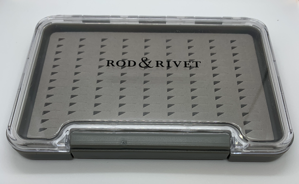Rod and Rivet Medium Waterproof Slim Fly Box
