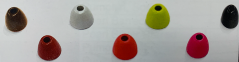 Wapsi Painted Cyclops Beads