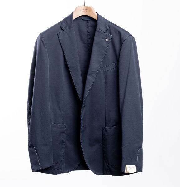 LBM 1911 Navy Cotton Sport Coat
