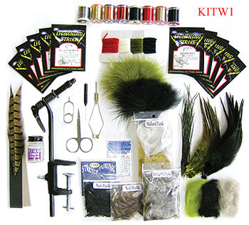 Custom Fly Tying Assortment