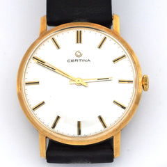Certina 18k gold Automatic - Daisy Exclusive - Montreal, Westmount