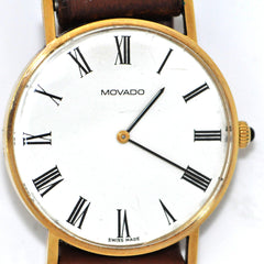 14K MOVADO ZENITH WATCH - Daisy Exclusive - Montreal, Westmount