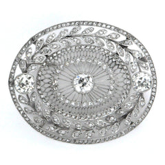 Daisy Exclusive - Antique Diamond Brooch